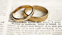 wedding rings vows